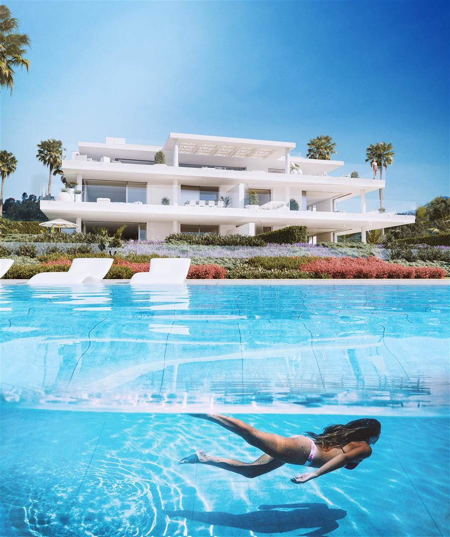 Exclusive Beachfront Luxury Contemporary Apartments for sale Costa del Sol (4)