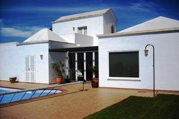 Pool and façade 1