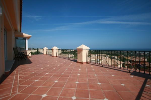 Sea view - upper terrace