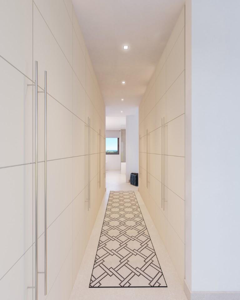 RENDER - WALK-IN CLOSET WITH DOORS - VESTIDOR CON PUERTAS (Medium)