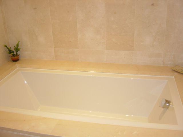 Bath in master bathroom