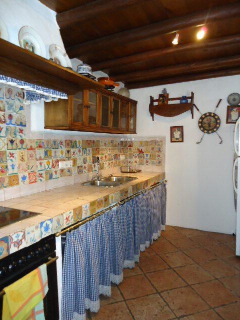 kitchen off living room
