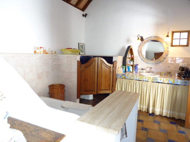 sink & Toilet area in Master bathroom
