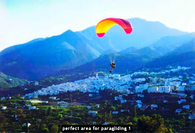perfect area for paragliding 1