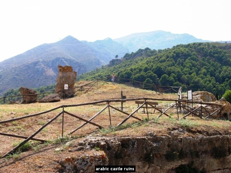 arabic castle ruins
