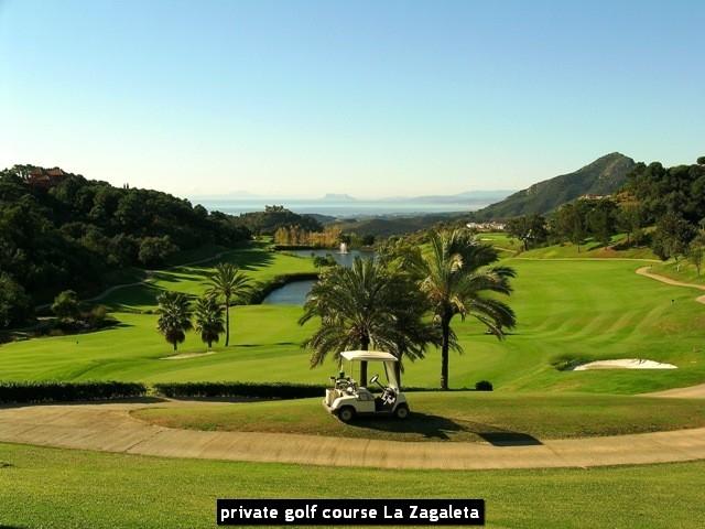 private golf course La Zagaleta