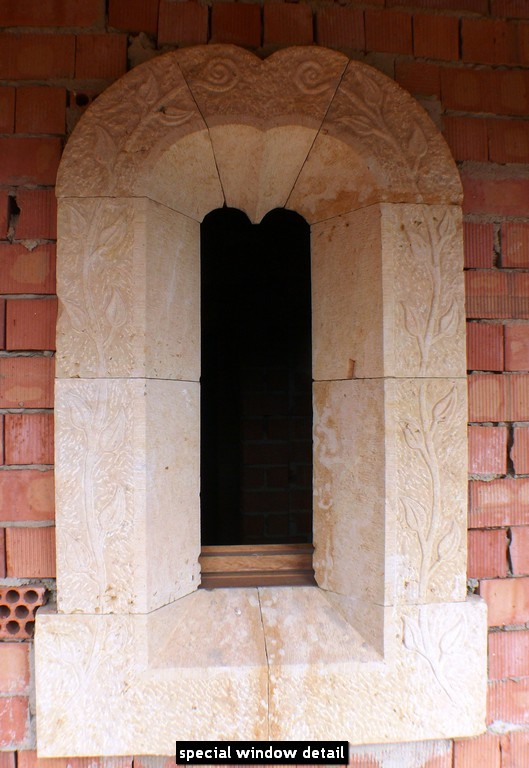 special window detail
