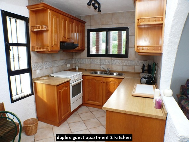 duplex guest apartment 2 kitchen