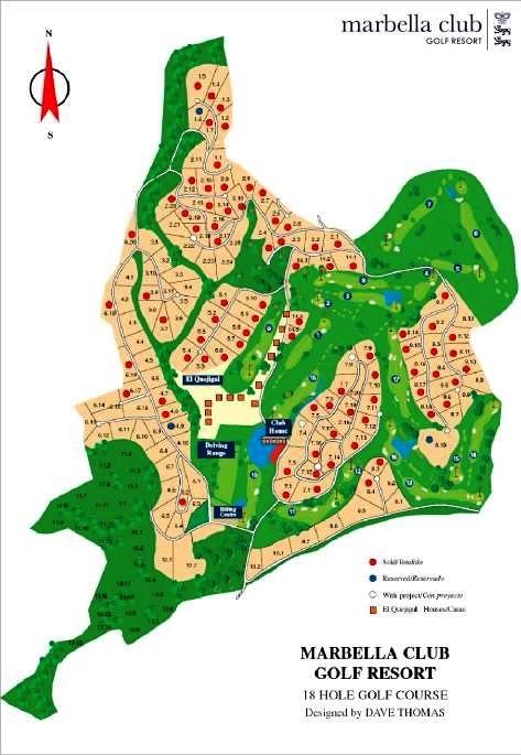 master plan Marbella Club Golf Resort
