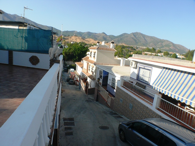 view to Mijas mountains