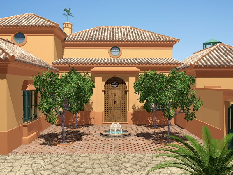 Andalusian Design: patio