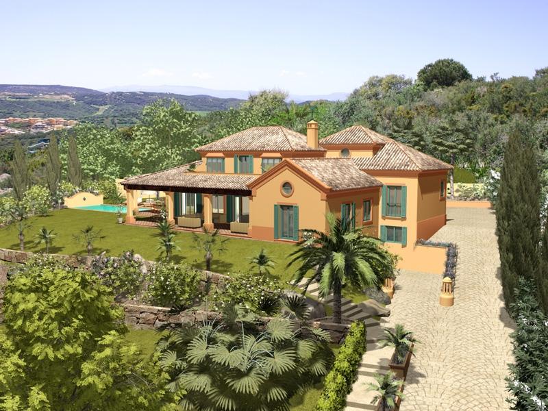 Andalusian Design side facade