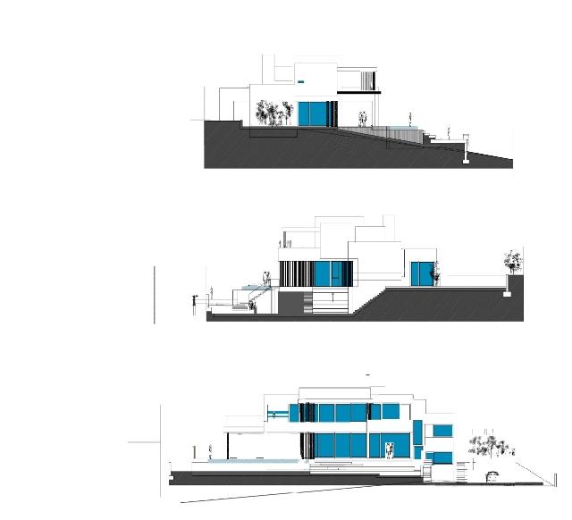 Facades modern design