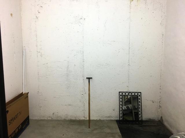 storage room in basement