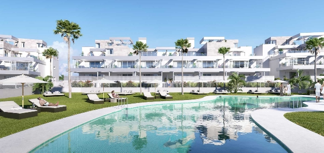 Contemporary Apartments for Sale in New Golden Mile, Estepona