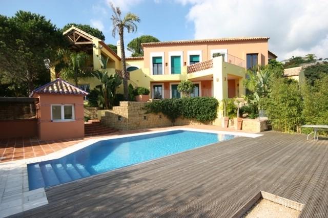 Villa for rent in benahavís málaga