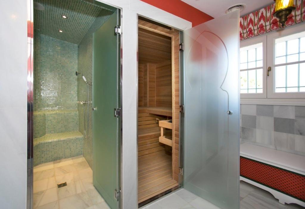 Sauna and steam shower