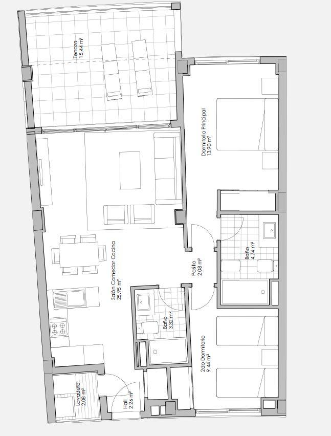 Plano vivienda 34