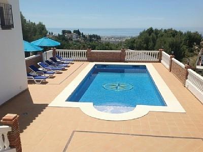 Pool & Terrace Area.