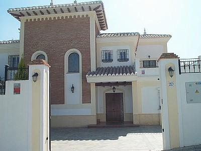Villa CSR Enterance.