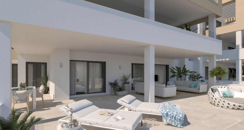 Ground floor terrace