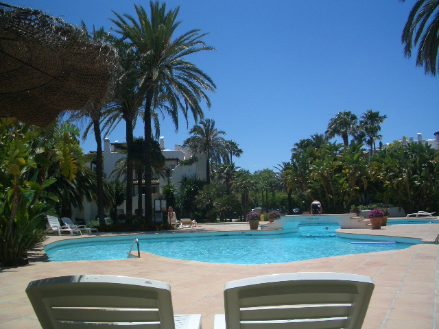 One of the Pools (1 heated)