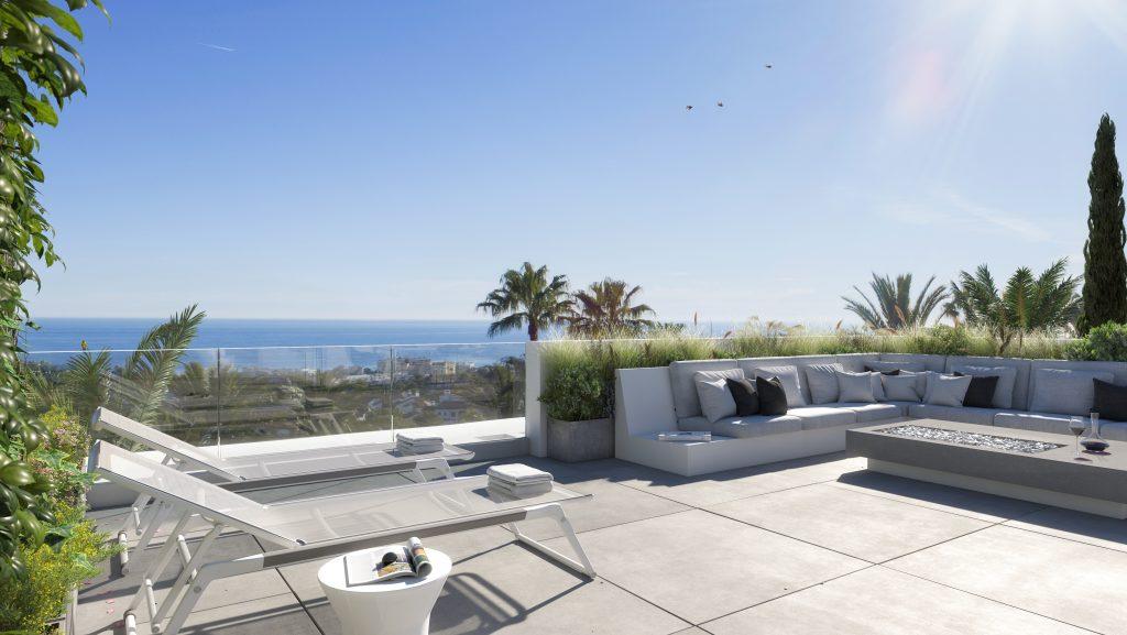 Marbella vila s vyhledem