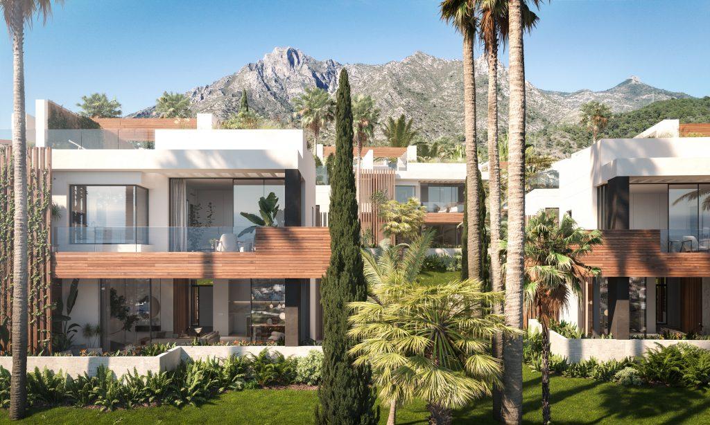 Luxusni rezidence Marbella pohled zvenci