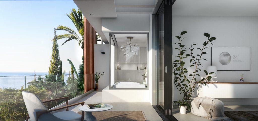 Luxusni vila Costa del Sol design terasy