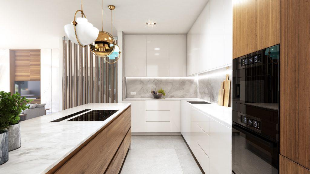 Luxusni vila Marbella design interier kuchyne