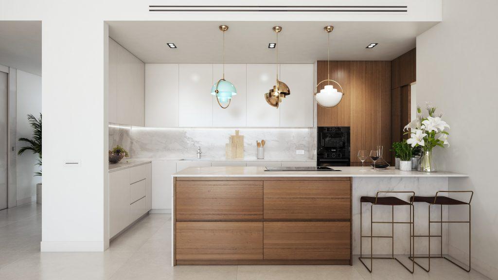 Luxusni nemovitost Marbella interier design pohled kuchyne