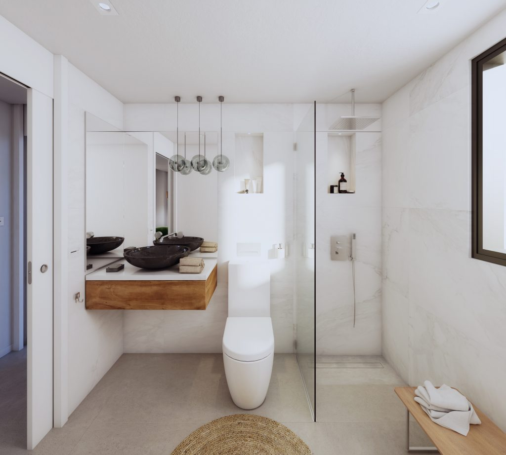 Luxusni bydleni Marbella design interier koupelna
