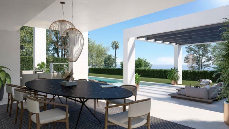 Vila u more Marbella