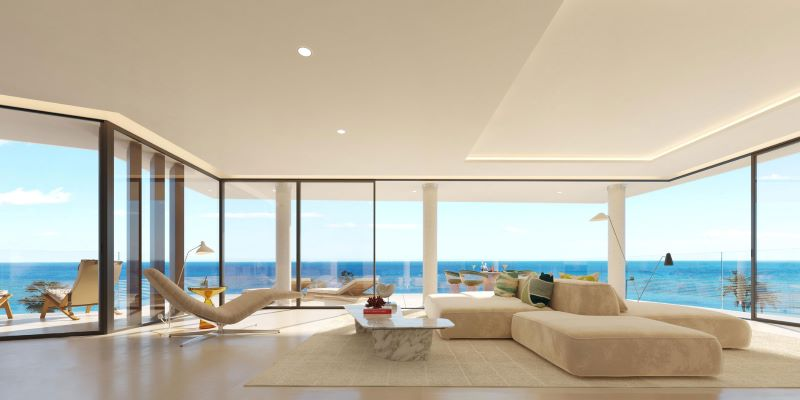 Moderni interiery u more