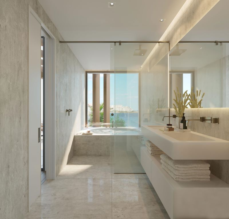 Luxusni interiery u more