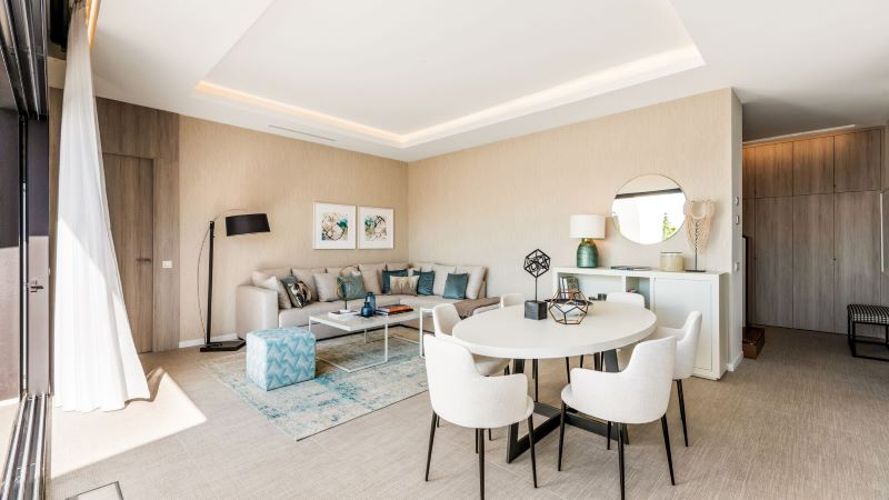 Apartman u more interier design