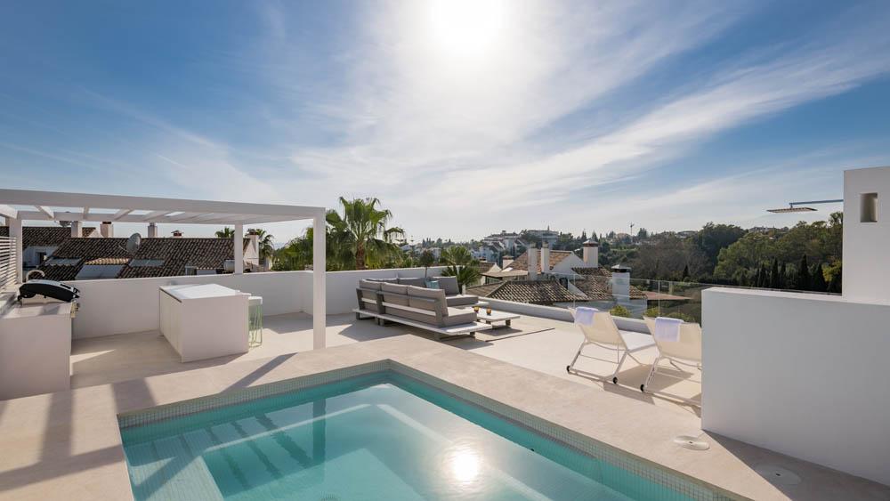 Marbella vila stresni terasa