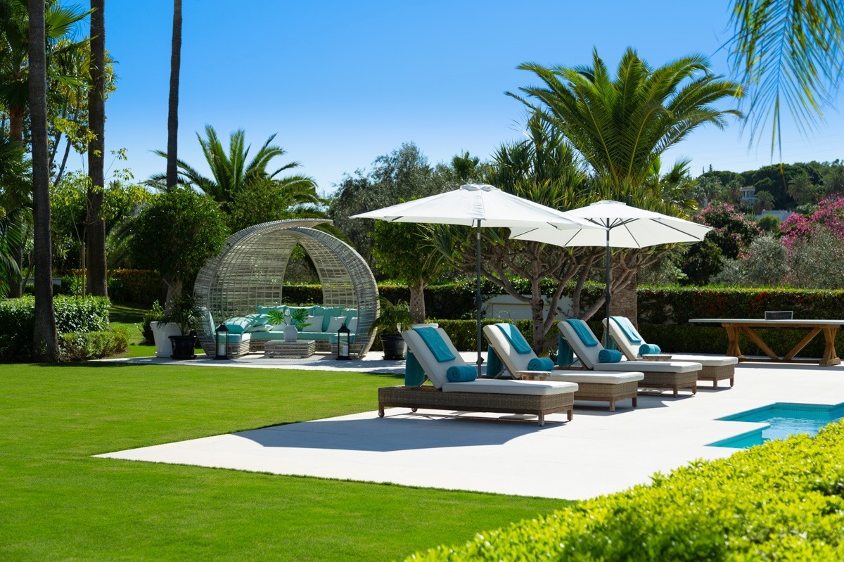 outside chill out area