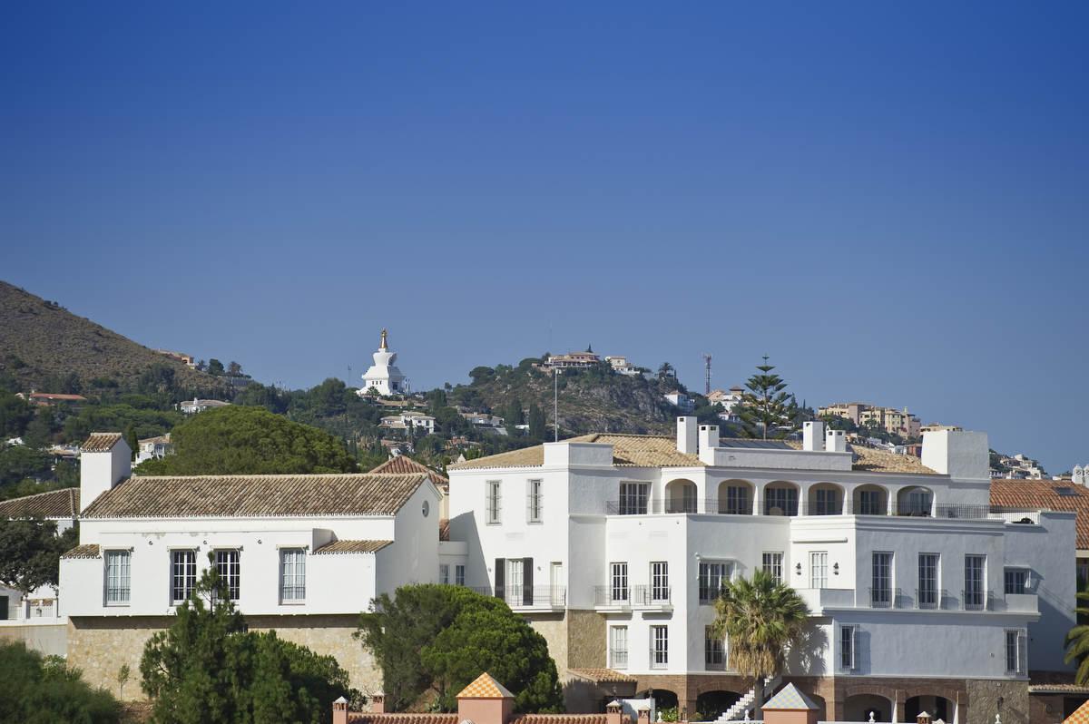 The villa Aerial