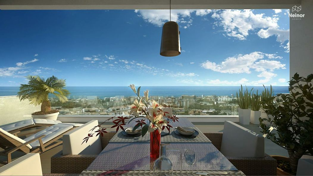 New off plan modern apartments with sea views - Marbella
