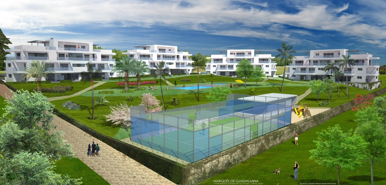 NEW MODERN OFF PLAN PROJECT CLOSE TO PUERTO BANUS, SAN…