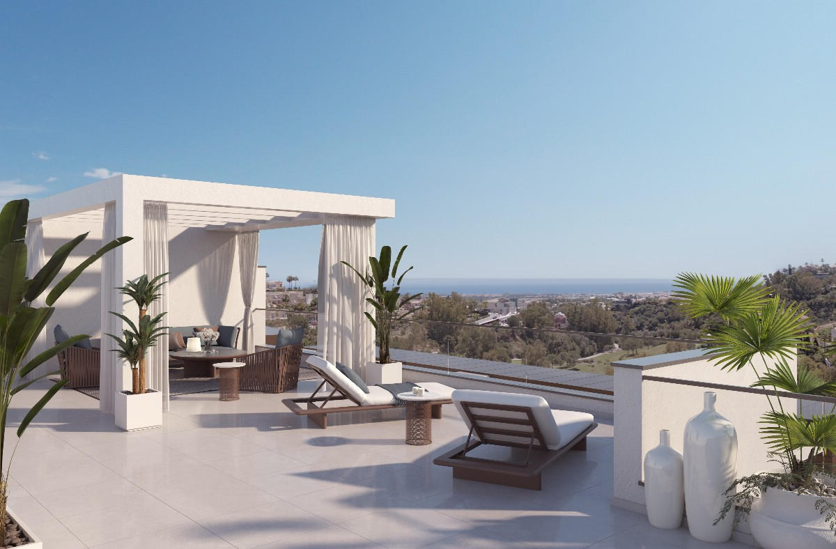 NEW CONTEMPORARY  DEVELOPMENT WITH SEA VIEWS NEAR LA QUINTA…