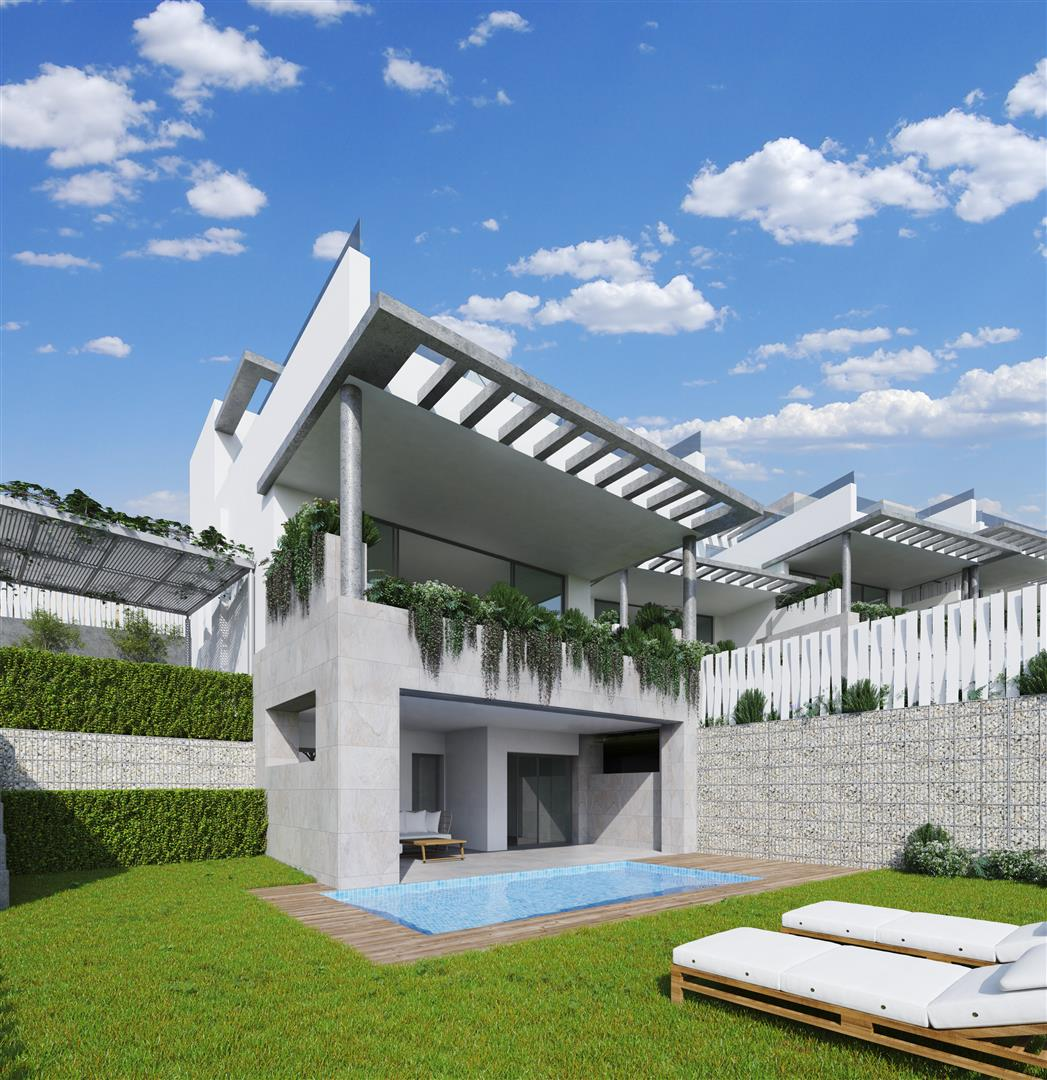 Modern townhouses for sale Marbella Spain (6) (Large)
