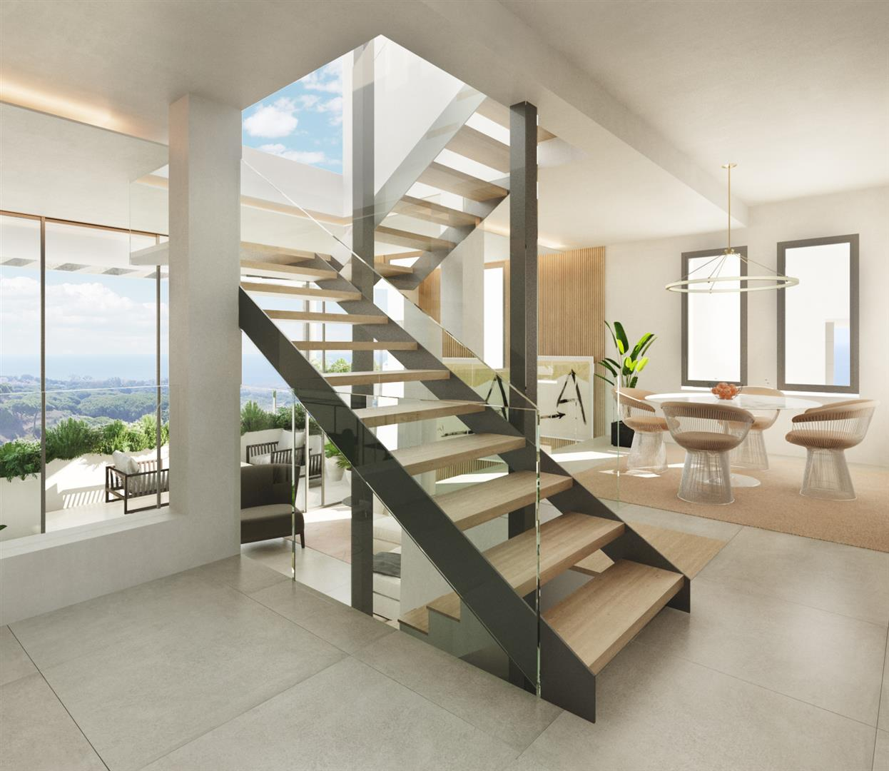 Modern townhouses for sale Marbella Spain (10) (Large)